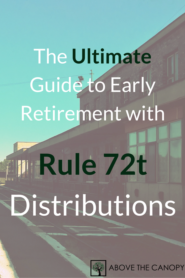 72t Distributions The Ultimate Guide To Early Retirement Above