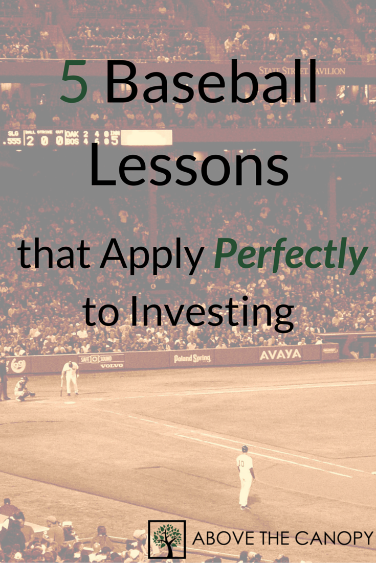 5 Baseball Lessons that Apply Perfectly to Investing