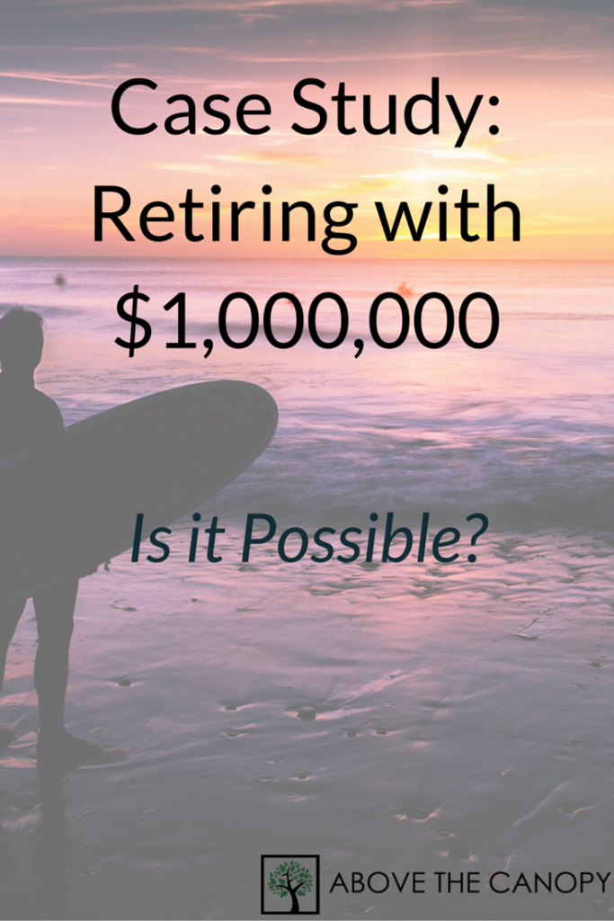 Case Study Retiring with $1,000,000