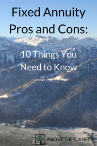 Fixed Annuity Pros and Cons 10 Things You Need to Know
