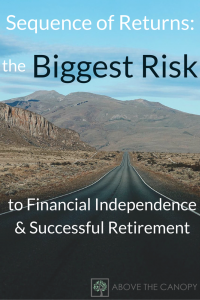 Sequence of Returns: the Biggest Risk to Financial Independence & a Successful Retirement