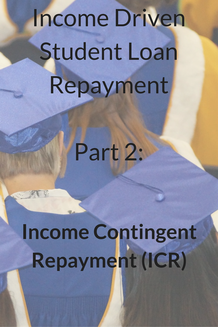 Income Contingent Repayment ICR