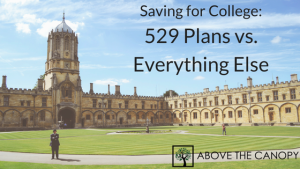 Saving for College: 529 Plans vs. Everything Else