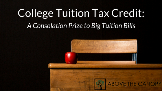 College Tuition Tax Credit: A Consolation Prize to Big Tuition Bills
