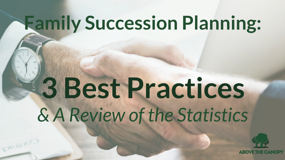 Family Business Succession Planning: 3 Best Practices & A Review of the Statistics