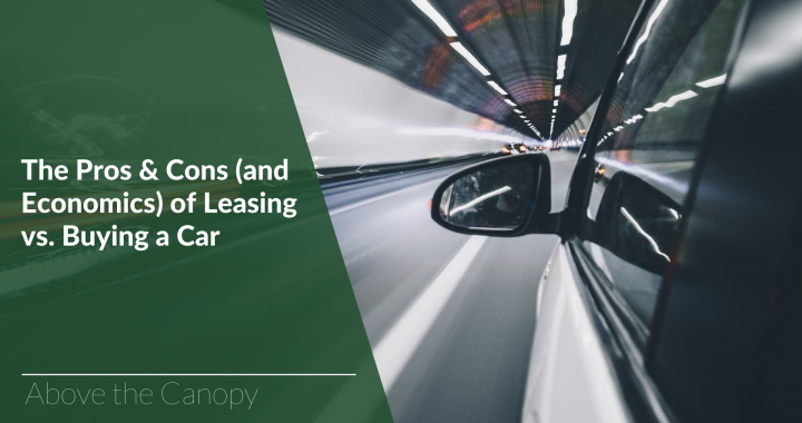 Leasing Vs Buying A Car Pros And Cons >> The Pros Cons And Economics Of Leasing Vs Buying A Car