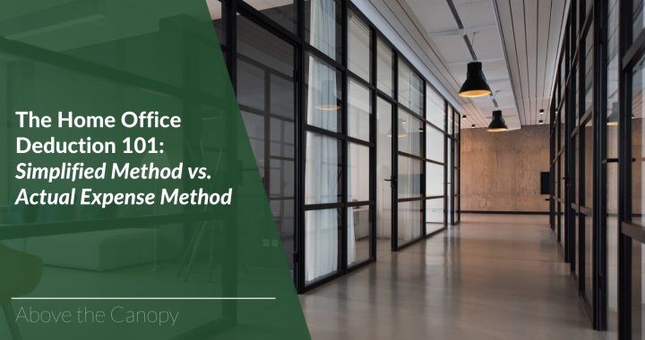 The Home Office Deduction 101: Simplified Method vs. Actual Expense Method